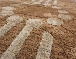 image of modern wool rugs area
