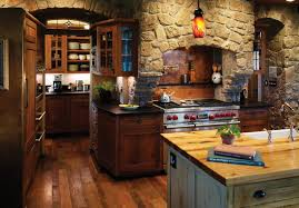 Rustic Kitchen With Rich Accents Rustic Kitchen Denver by