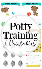 Potty Chart Free How To Potty Train 25 Free Printables Lipgloss And Crayons