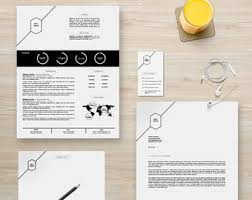 Resume Cover Package Etsy