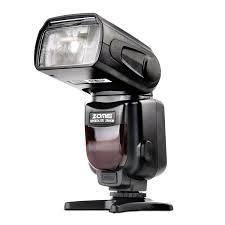 Canon Flash Light Zomei Zm430 Professional Manual Speedlite Flashlight With