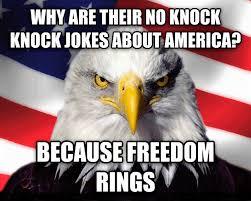 knock knock joke freedom rings eagle gif