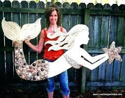 outdoor mermaid decor outdoor mermaid decor outdoor metal mermaid wall art decor
