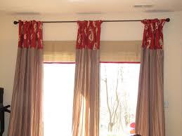 image of sliding door window treatments design