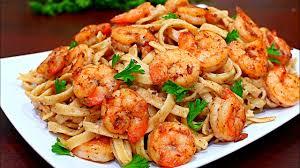 skinny cajun shrimp alfredo pasta recipe healthy alfredo pasta you