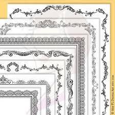 page border certificate frames vintage borders great as award antique frame border50 antique