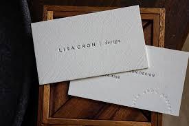 Letter Press Business Card Hoban Press Custom Letterpress Printing