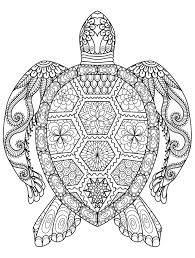 Coloring Printable Adult Animal Coloring Pages Mandala Book For