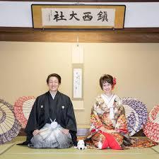 和装前撮り 間にちょこんとスヌーピーも一緒に 日本中のプレ花嫁