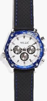 get latest men watches products from obsessory boohoo metallic faced watch black straps black