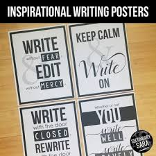 Posters For ELA Classrooms Inspirational Writing Quotes By Magnificent Inspirational Writing Quotes