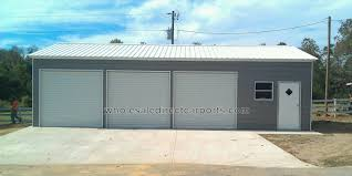 10x8 garage doorEnclosed Metal Garages  For The Perfect Metal Garage Contact Us