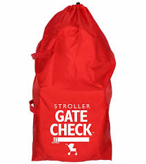 Jl Childress Gate Check Bag For Standard Double Strollers