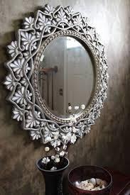Broken Mirror Wall Art Top 25 Best Decorated Mirrors Ideas On Pinterest Diy Floral