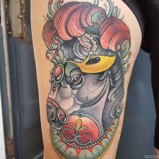 красивая лошадь тату на бедре у девушки добавлено иван вишневский