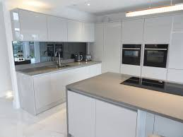 zurfiz doors ultragloss light grey components kitchen purple kitchens gray cabinet cupboard fronts modern wall ideas