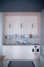 Kitchen Small Space Steal This Look A Pastel Pink Paris Kitchen Small Space Edition