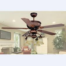 2018 ceiling fan european retro glass wood ceiling fan light dining room pendant light remote control light l 1320mm h 600mm from soon 372 67 dhgate com