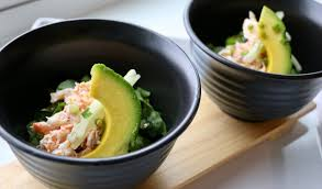 Fancy but Simple King Crab Salad ...