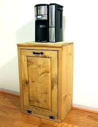 wooden country kitchen trash bins wood for fascinating bin can furniture tilt out large wooden kitchen trash bins