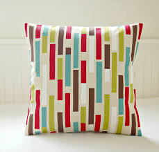 red and teal pillows. Beautiful Red Blue And Brown Decorative Pillows Awesome Retro Teal Lime Green Red  Abstract Fun Of Intended And