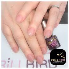 Acrylic nails natural look Brillbird   Nail Art   Pinterest ...