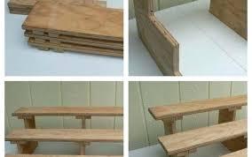 collapsible shelving display modern portable shelf article