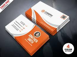 Simple Business Card Design Template Simple Business Card Design Free Psd By Psd Freebies On Dribbble