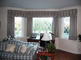 Living Room Window Curtains Victorian Bay Window Curtain Ideas Bay Window Curtain Ideas And