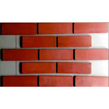 red brick wall tile thickness 10 15