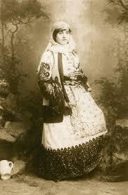 unknown woman in attica dress c 1880 petros moraitis