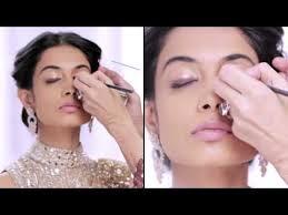 wedding makeup tutorial enement look bebeautiful