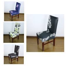 european style removable flower pattern elastic stretch chair cover home wedding chair slipcover