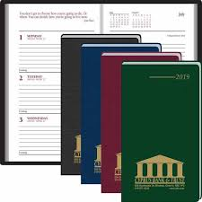 Promotional 2019 Pocket Partner Weekly Planners With Custom Logo For