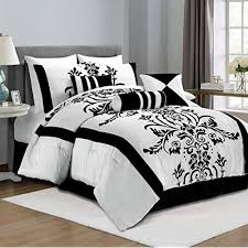 Black and White Bedding: Amazon.com