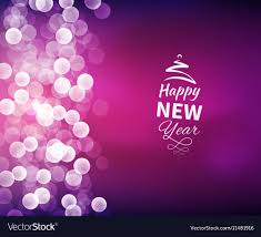 New Year Backgrounds Romantic Happy New Year Background Royalty Free Vector Image