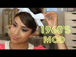 1960 s mod makeup tutorial you i love retro makeup looks this one is very