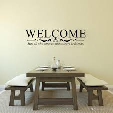 quote vinyl wall art stickers welcome may all who enter as guests wall decor for livingroom bedroom custom vinyl wall decals custom wall decal from flylife  on custom vinyl wall art stickers with quote vinyl wall art stickers welcome may all who enter as guests
