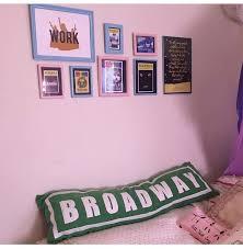 diy broadway street sign pillow