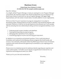 Unique Example Of Cover Letter For Resume Templates General Sample