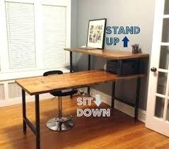 rustic office desk. Rustic Corner Desk Small Best Ideas On Wooden Office And .