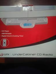 Under Kitchen Cabinet Radio Under Cabinet Stereo With Bluetooth Monsterlune