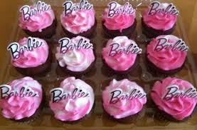 Cupcakes Barbie Design Barbie Cupcakes Barbie Birthday Cake Barbie Birthday
