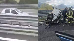 Contromano in autostrada provoca un incidente mortale: un camionista  riprende la terribile scena