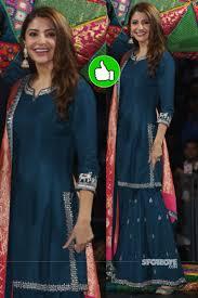 Anushka Sharma Fashion Designer Anushka Sharma Promotes Sui Dhaga In Delhi In 2020 Stylish
