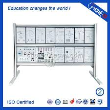 plc education desktop programmable logic controller trainer plc teaching board