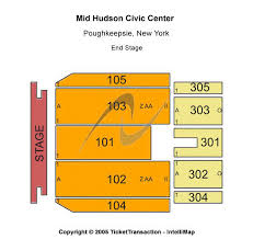 Mid Hudson Civic Center Seating Chart