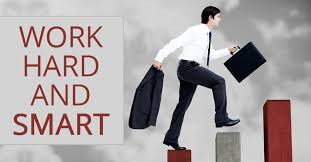the big difference between smart work and hard work work hard and smart