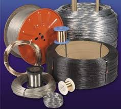 This type of wire is also called piano wire, because of it's use in stringed instruments, especially the piano. Patented Wire Patented Music Wire