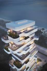 architectural engineering models. Elegant Residential Tower With A View Limassol Beach, Courtesy Of Orange Architects Architectural Engineering Models R
